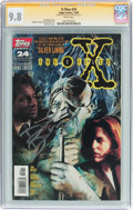 Modern Age (1980-Present):Science Fiction, X-Files #24 Signature Series (Topps Comics, 1996) CGC NM/MT 9.8White pages....