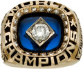 Baseball Collectibles:Others, 1978 New York Yankees World Series Championship Ring Presented toPitcher Ed Figueroa....