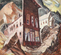 Fine Art - Painting, American:Modern  (1900 1949)  , Frederick Montague Charman (American, 1894-1986). Colorado GhostTown. Oil on canvas. 22-1/2 x 24 inches (57.2 x 61.0 cm...