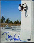 Autographs:Others, Tony Hawk Signed Photograph....