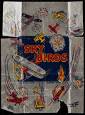 "Non-Sport Cards:Unopened Packs/Display Boxes, 1933 R137 World Wide Gum ""Sky Birds"" Wax Paper Wrapper...."