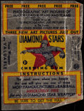 """Baseball Cards:Unopened Packs/Display Boxes, 1934-36 R327 National Chicle """"Diamond Stars"""" Wax Paper Wrapper...."""