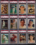 Baseball Cards:Sets, 1957 Topps Baseball Complete Set (407) With Five Contest Cards....