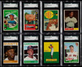 Baseball Cards:Lots, 1950's - 1970's Baseball Superstars and HoFers SGC GradedCollection (16). ...