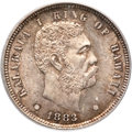 Coins of Hawaii , 1883 10C Hawaii Ten Cents MS65 PCGS....