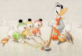 Animation Art:Production Drawing, The Hockey Champ Donald Duck Good HousekeepingOriginal Art (Walt Disney, 1939)...