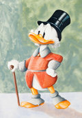 Animation Art:Production Drawing, Scott Rockwell Scrooge McDuck Original Art (Walt Disney,2004)...