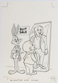 Original Comic Art:Covers, Bugs Bunny #248 Unpublished Cover Original Art (1983)....