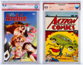 Modern Age (1980-Present):Miscellaneous, Modern Age CBCS-Graded Verified Signature Comics Group of 2 (Archie/DC, 1992-2014).... (Total: 2 Comic Books)