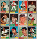 Baseball Cards:Sets, 1961 Topps Baseball Partial Set (171 Different) With Many Stars and 14 High Numbers. ...