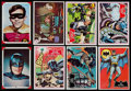 Non-Sport Cards:Sets, 1966 Topps Batman Collection (218) - With Complete & Near Sets....