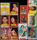 Basketball Cards:Lots, 1948-69 Multi-Sport Card Collection (24) With 1955 Killebrew &1969 Alcindor....
