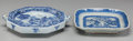 Asian:Chinese, Two Chinese Blue and White Porcelain Plates. 10-1/2 inches wide(26.7 cm) (wider). ... (Total: 2 Items)