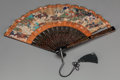 Asian:Chinese, A Chinese Painted Folding Fan, early 20th century. 8 inches high x15-1/2 inches wide (20.3 x 39.4 cm) (extended). ...