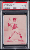 Baseball Cards:Singles (1930-1939), 1934 Batter-Up Pie Traynor (Magenta) #14 PSA VG-EX 4....