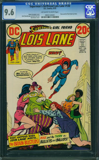 Superman's Girlfriend Lois Lane #126 (DC, 1972) CGC NM+ 9.6 OFF-WHITE TO WHITE pages