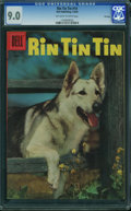 Silver Age (1956-1969):Adventure, Rin Tin Tin #14 - File Copy (Dell, 1956) CGC VF/NM 9.0 OFF-WHITE TO WHITE pages.
