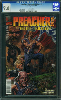 Preacher Special: The Good Old Boys #1 (DC/Vertigo, 1997) CGC NM+ 9.6 WHITE pages