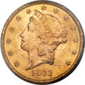 Liberty Double Eagles, 1902 $20 MS62 PCGS. CAC....