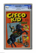 Golden Age (1938-1955):Western, Cisco Kid Comics #1 Carson City pedigree (Baily Publication, 1944)CGC NM+ 9.6 Off-white to white pages. This is the first c...