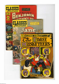Classic Comics and Classics Illustrated Original Editions Full Run (Gilberton, 1941-69). This is an almost complete run:...