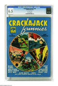 Golden Age (1938-1955):Miscellaneous, Crackajack Funnies #22 (Dell, 1940) CGC FN+ 6.5 Off-white pages. The only copy of the issue that CGC has certified to date. ...