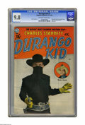 Golden Age (1938-1955):Western, The Durango Kid #1 (Magazine Enterprises, 1949) CGC NM/MT 9.8Off-white to white pages. Frank Frazetta art makes this a high...