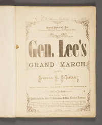 CONFEDERATE SHEET MUSIC IMPRINTS: COLLECTION OF FOURTEEN PIECES