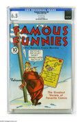 Golden Age (1938-1955):Humor, Famous Funnies #67 (Eastern Color, 1940) CGC FN+ 6.5 Off-white pages. Characters include Buck Rogers. Overstreet 2005 FN 6.0...