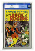 Golden Age (1938-1955):Science Fiction, Famous Funnies #209 (Eastern Color, 1953) CGC NM 9.4 Cream tooff-white pages. This landmark title, launched way back in 193...
