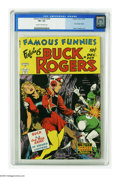 Golden Age (1938-1955):Science Fiction, Famous Funnies #209 (Eastern Color, 1953) CGC VF+ 8.5 Cream to off-white pages. Buck Rogers returns to Famous Funnies wi...