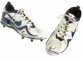 Football Collectibles:Others, Earl Campbell Signed Cleats. The Tyler Rose Earl Campbell endured severe beating as an NFL running back for the Houston Oil...