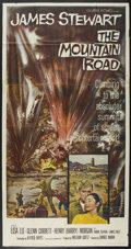 "Movie Posters:War, The Mountain Road (Columbia, 1960). Three Sheet (41"" X 81""). War...."