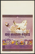 "Movie Posters:Animated, 1001 Arabian Nights (Columbia, 1959). Window Card (14"" X 22"").Animated. ..."