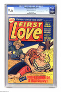 """Golden Age (1938-1955):Romance, First Love Illustrated #13 File Copy (Harvey, 1951) CGC NM+ 9.6 Cream to off-white pages. """"I Joined A Teen-Age Sex Club"""" is ..."""