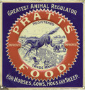 Advertising:Signs, Pratts Food Veterinary Sign by the H. D. Beach Co....