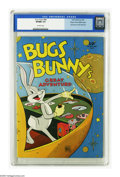 Golden Age (1938-1955):Cartoon Character, Four Color #88 Bugs Bunny's Great Adventure - Mile High pedigree (Dell, 1945) CGC VF/NM 9.0 Off-white pages. A high flying B...