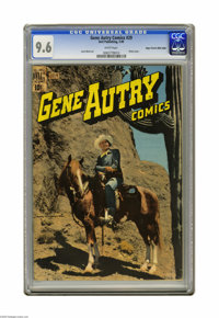 Gene Autry Comics #29 Mile High pedigree (Dell, 1949) CGC NM+ 9.6 White pages. Here's perhaps the nicest book in this un...