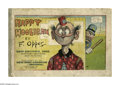 Platinum Age (1897-1937):Miscellaneous, Happy Hooligan: New Edition (Hearst, 1903) Condition: GD. Reprintsof Fred Opper's strip. Nice interior pages, 82 pages in c...