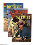 Golden Age (1938-1955):Western, The Lone Ranger #10-145 Box Lot (Dell, 1949-62). Here's a solid,uninterrupted run of 13 years' worth of the Lone Ranger, ex...