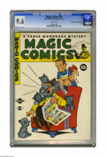 Golden Age (1938-1955):Humor, Magic Comics #39 Mile High pedigree (David McKay Publications, 1942) CGC NM+ 9.6 White pages. A Golden Age book with a white...