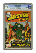 Golden Age (1938-1955):Superhero, Master Comics #21 Crowley Copy pedigree (Fawcett, 1941) CGC VF- 7.5 Off-white pages. This scarce comic book is perhaps the b...