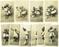 "Antiques:Black Americana, A Marvelous Series of Ten (10) French, Real-photo PostcardsFeaturing Black Children Performing a Dance Entitled ""LeCake-Walk... (Total: 10 Items)"