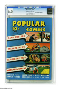 Popular Comics #51 (Dell, 1940) CGC FN 6.0 Off-white to white pages. Origin of the Voice. Gang Busters are also featured...
