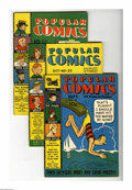 Golden Age (1938-1955):Miscellaneous, Popular Comics Group (Dell, 1938-40) Condition: Average VG/FN. Issues 32, 33, 35, and 47 are included in this early Golden A... (Total: 4)