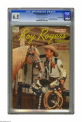 """Golden Age (1938-1955):Western, Roy Rogers Annual (Canadian) #nn (Wilson Publishing, 1947) CGC FN+6.5 Off-white to white pages. """"Less than 5 known copies,""""..."""