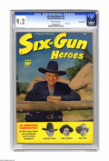 Golden Age (1938-1955):Western, Six-Gun Heroes #1 Crowley Copy pedigree (Fawcett, 1950) CGC NM- 9.2Off-white pages. Hopalong Cassidy, Rocky Lane, and Smile...