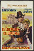 "Movie Posters:Adventure, The Elusive Pimpernel (British Lion Film, 1950). Belgian (14.2"" X21.4""). Adventure. ..."
