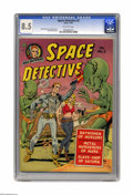 Golden Age (1938-1955):Science Fiction, Space Detective #2 (Avon, 1951) CGC VF+ 8.5 Off-white pages. WallyWood drew this issue's cover (assisted by Joe Orlando) an...