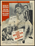 "Movie Posters:Adventure, Mutiny on the Bounty (MGM, 1962). French Petite (23.5"" X 31.5"").Adventure. ..."
